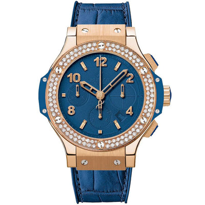 Hublot Big Bang Tutti Frutti 41mm 341.PL.5190.LR.1104 Blue Dial-First Class Timepieces