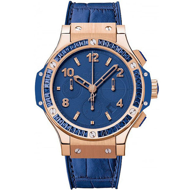 Hublot Big Bang Tutti Frutti 41mm 341.PL.5190.LR.1901 Blue Dial-First Class Timepieces