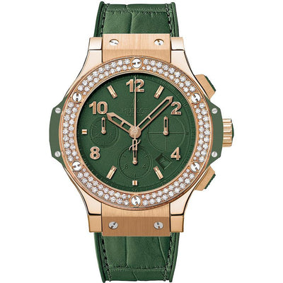 Hublot Big Bang Tutti Frutti 41mm 341.PV.5290.LR.1104 Green Dial-First Class Timepieces