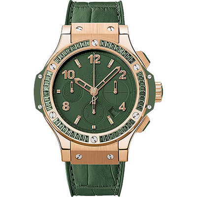 Hublot Big Bang Tutti Frutti 41mm 341.PV.5290.LR.1917 Green Dial-First Class Timepieces