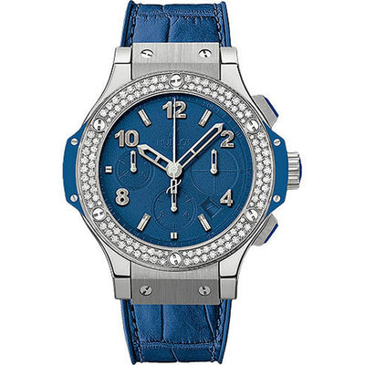 Hublot Big Bang Tutti Frutti 41mm 341.SL.5190.LR.1104 Blue Dial-First Class Timepieces