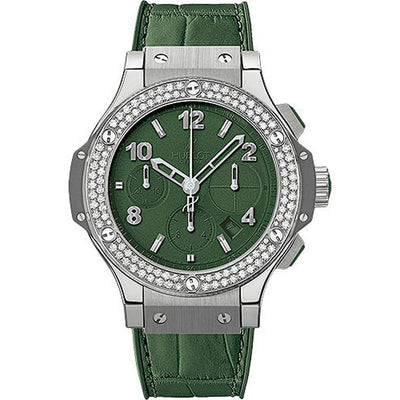 Hublot Big Bang Tutti Frutti 41mm 341.SV.5290.LR.1104 Green Dial-First Class Timepieces