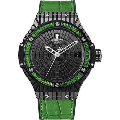 Hublot Big Bang Tutti Frutti 41mm 346.CD.1800.LR.1922 Black Dial-First Class Timepieces