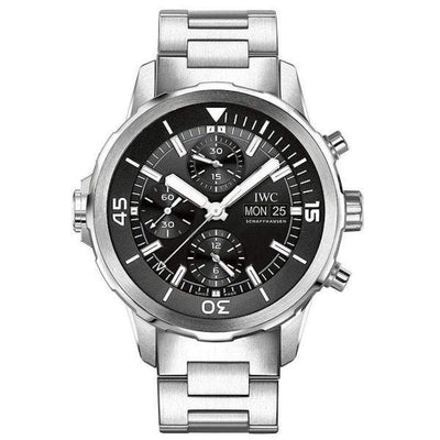 IWC Aquatimer Chronograph 44mm IW376804 Black Dial-First Class Timepieces