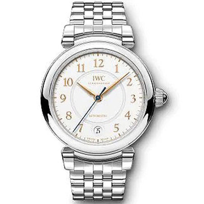 IWC Da Vinci 36mm IW458308 Silver Dial-First Class Timepieces