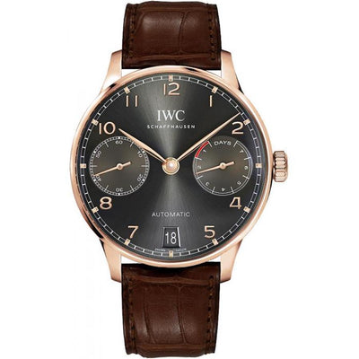 IWC Portugieser 42mm IW500702 Slate Grey Dial-First Class Timepieces