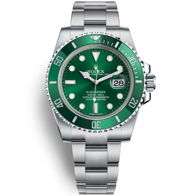 Rolex Submariner Date 40mm 116610LV Green Dial