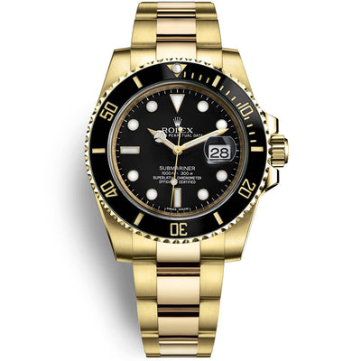 Rolex Submariner Date 40mm 116618LN Black Dial
