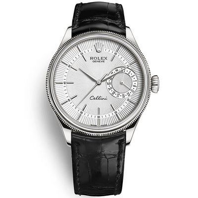 Rolex Cellini Date 39mm 50519 Black White