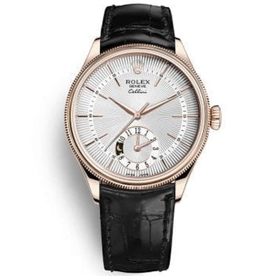 Rolex Cellini Dual Time 39mm 50525 White Dial