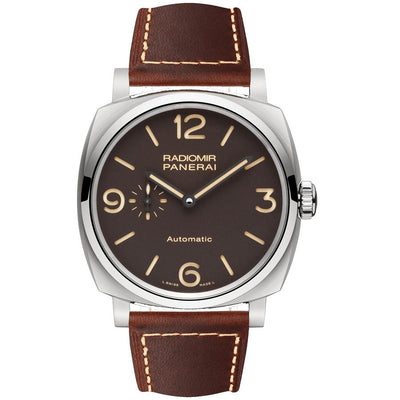 Panerai Radiomir 45mm PAM00619 Brown Dial-First Class Timepieces