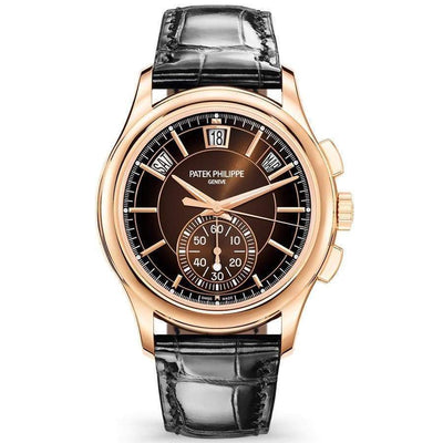 Patek Philippe Annual Calendar Chronograph Complication 42mm 5905R Black Dial-First Class Timepieces