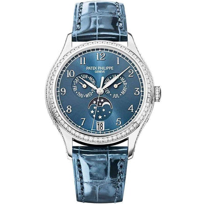 Patek Philippe Annual Calendar Complication 38mm 4947G Blue Dial - First Class Timepieces
