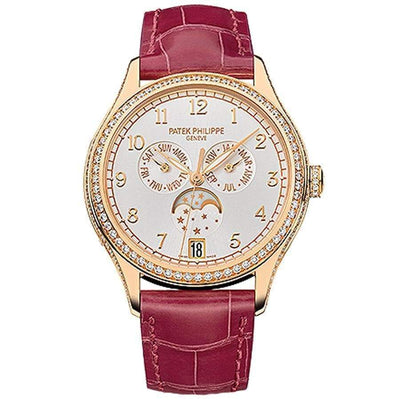 Patek Philippe Annual Calendar Complication 38mm 4947R Silver Dial - First Class Timepieces