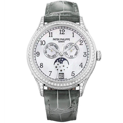 Patek Philippe Annual Calendar Complication 38mm 4948G Mother Of Pearl Dial - First Class Timepieces