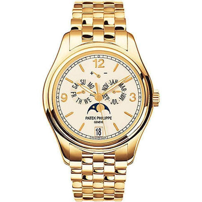 Patek Philippe Annual Calendar Complication 38mm 5146/1J Ivory Dial - First Class Timepieces