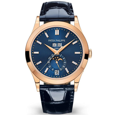 Patek Philippe Annual Calendar Complication 38mm 5396R-015 Blue Baguette Diamond Dial Dial-First Class Timepieces