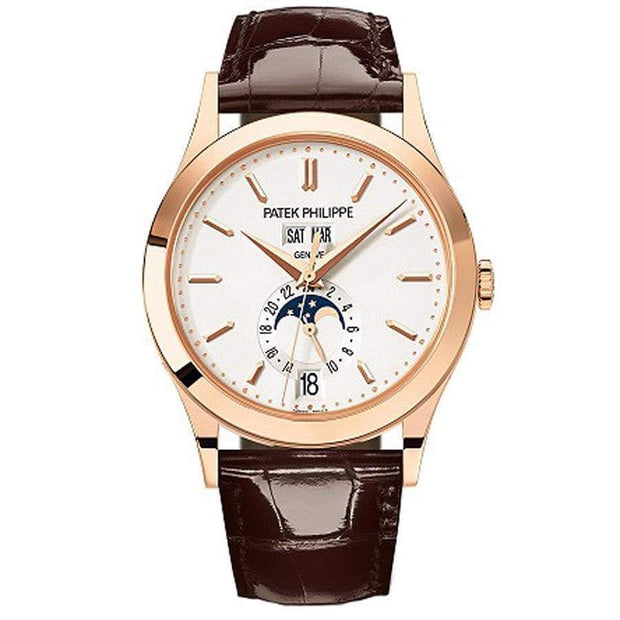 Patek Philippe Annual Calendar Complication 38mm 5396R Silver Dial-First Class Timepieces