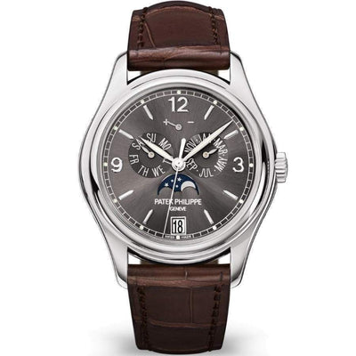 Patek Philippe Annual Calendar Complication 39mm 5146G Slate Grey Dial - First Class Timepieces