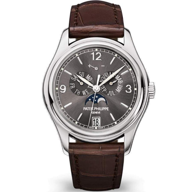 Patek Philippe Annual Calendar Complication 39mm 5146G Slate Grey Dial-First Class Timepieces