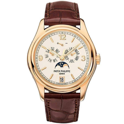 Patek Philippe Annual Calendar Complication 39mm 5146R Cream White Dial - First Class Timepieces