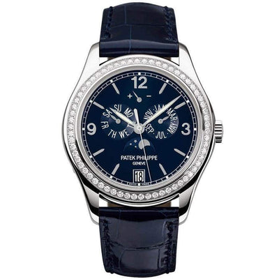 Patek Philippe Annual Calendar Complication 39mm 5147G Blue Dial - First Class Timepieces