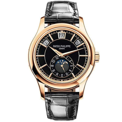 Patek Philippe Annual Calendar Complication 40mm 5205R Black Dial - First Class Timepieces