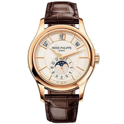 Patek Philippe Annual Calendar Complication 40mm 5205R Cream White Dial - First Class Timepieces
