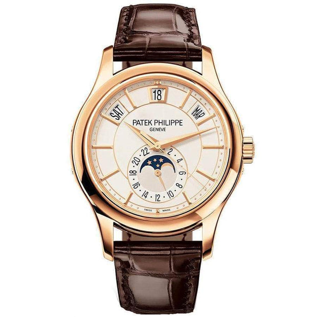 Patek Philippe Annual Calendar Complication 40mm 5205R Cream White Dial-First Class Timepieces