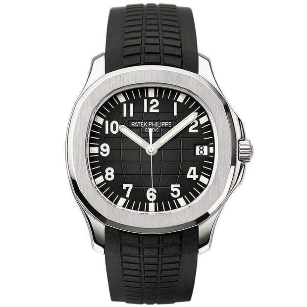 Patek Philippe Aquanaut 40mm 5167A Black Dial-First Class Timepieces