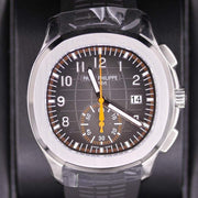 Patek Philippe Aquanaut Chronograph 42mm 5968A Black Dial-First Class Timepieces