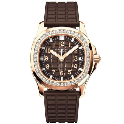 Patek Philippe Aquanaut Luce 35mm 5068R Brown Dial - First Class Timepieces