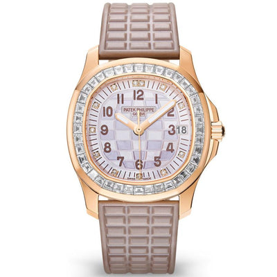 Patek Philippe Aquanaut Luce Haute Joaillerie 35mm 5072R-001 Mother Of Pearl Dial-First Class Timepieces