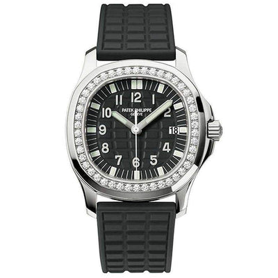 Patek Philippe Aquanaut Luce Quartz 35mm 5067A Black Dial-First Class Timepieces