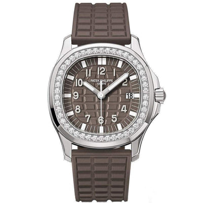 Patek Philippe Aquanaut Luce Quartz 35mm 5067A Brown Dial-First Class Timepieces
