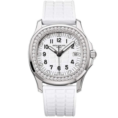 Patek Philippe Aquanaut Luce Quartz 35mm 5067A White Dial - First Class Timepieces