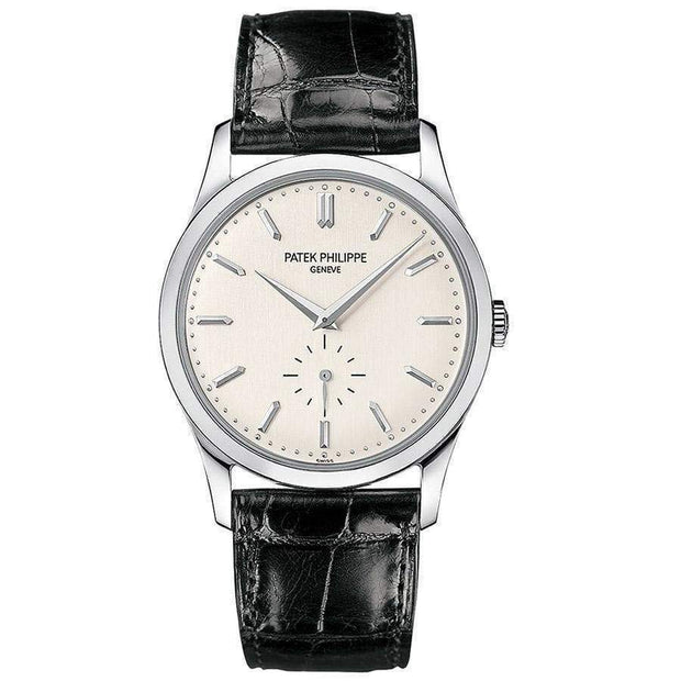 Patek Philippe Calatrava 37mm 5196G Silver Dial-First Class Timepieces