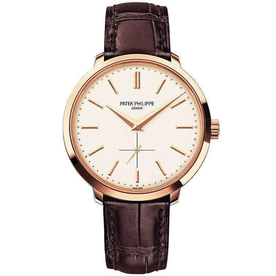 Patek Philippe Calatrava 38mm 5123R Silver Dial - First Class Timepieces