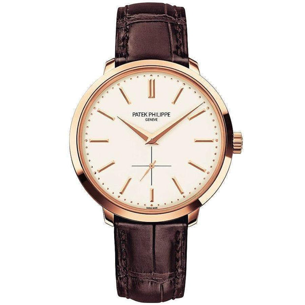 Patek Philippe Calatrava 38mm 5123R Silver Dial-First Class Timepieces