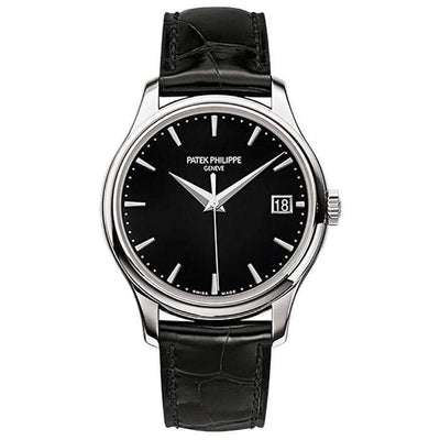 Patek Philippe Calatrava 39mm 5227G Black Dial - First Class Timepieces