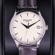 Patek Philippe Calatrava 39mm 5227G Cream White Dial Pre-Owned-First Class Timepieces