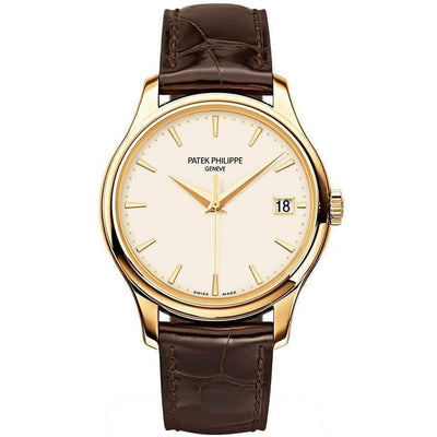 Patek Philippe Calatrava 39mm 5227J Ivory Dial - First Class Timepieces
