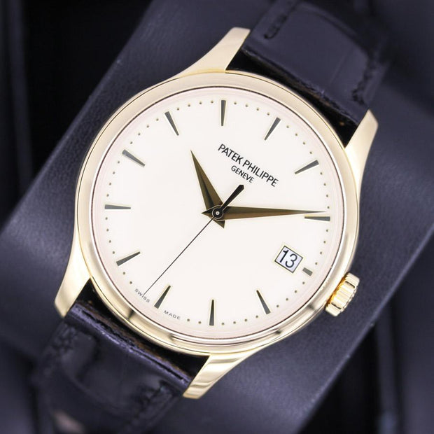 Patek Philippe Calatrava 39mm 5227J Ivory Dial Pre-Owned-First Class Timepieces