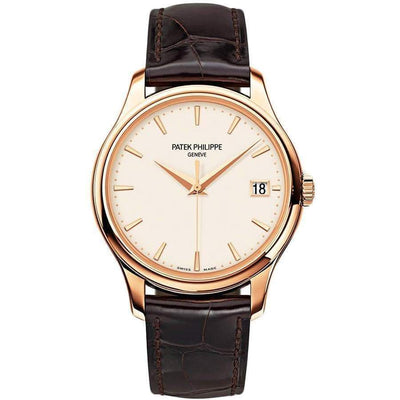 Patek Philippe Calatrava 39mm 5227R Ivory Dial - First Class Timepieces