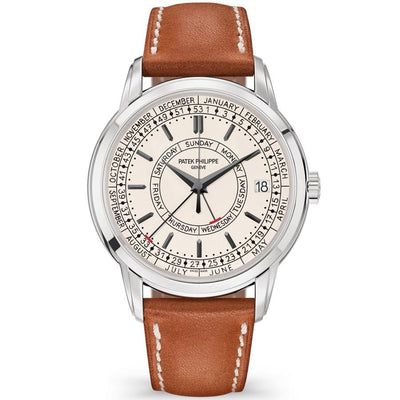 Patek Philippe Calatrava Complications Weekly Calendar 40mm 5212A-001 Silver Dial-First Class Timepieces