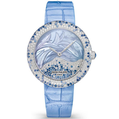Patek Philippe Calatrava Haute Joaillerie 35mm 4899-901G-001 Mother Of Pearl Diamond Dial-First Class Timepieces