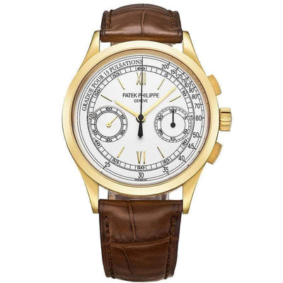 Patek Philippe Chronograph Complication 39mm 5170J Silver Dial-First Class Timepieces