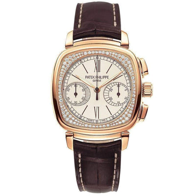 Patek Philippe Chronograph Complication 39mm 7071R White Cream Dial - First Class Timepieces