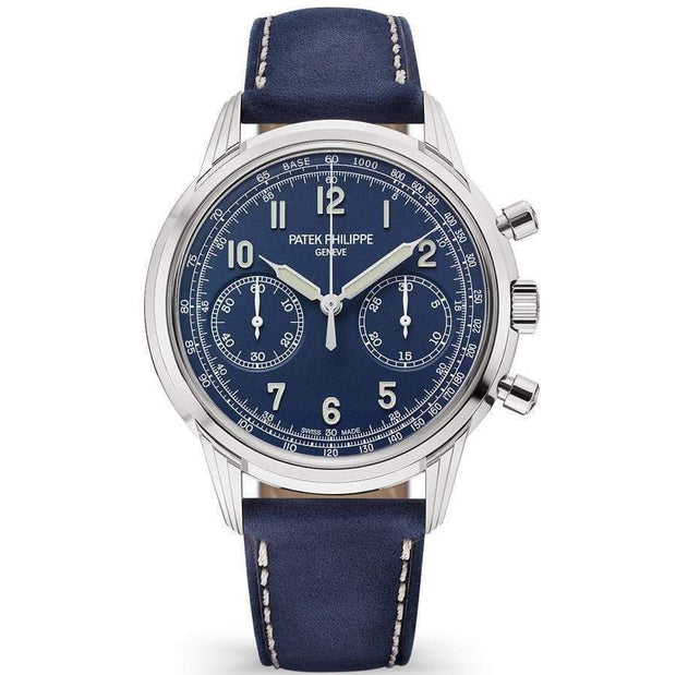 Patek Philippe Complication Chronograph 41mm 5172G Blue Dial-First Class Timepieces