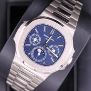 Patek Philippe Extra-Thin Nautilus Grand Complications Perpetual Calendar 40mm 5740/1G Blue Dial-First Class Timepieces